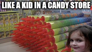 16u6h8 disaster girl's favorite store imgflip,Kid In A Candy Store Meme