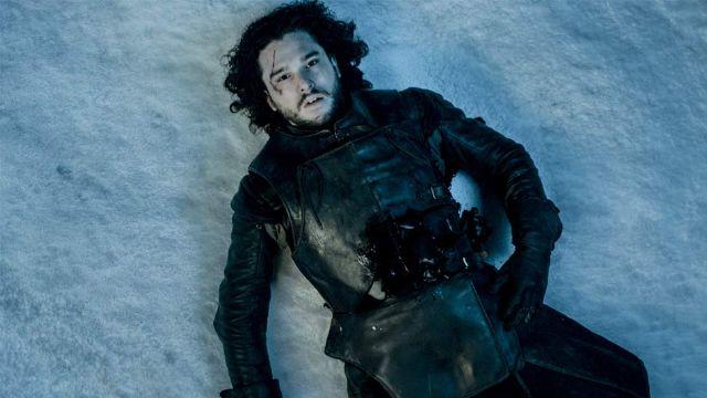 John Snow Lying In Pool Of Blood Blank Template Imgflip