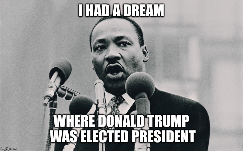 """Mahalia Jackson shouted mid-speech, """"Tell them about the dream, Martin!"""" and the rest is history"""