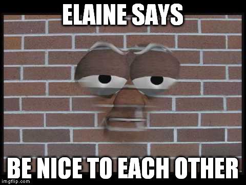 Talking Brick Wall