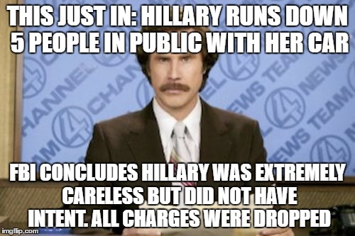 A description of the how careless people are on automobile