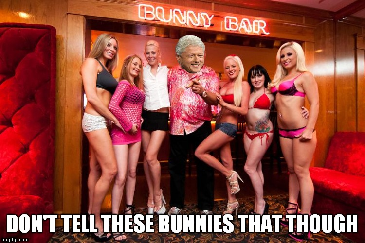 DON'T TELL THESE BUNNIES THAT THOUGH | made w/ Imgflip meme maker