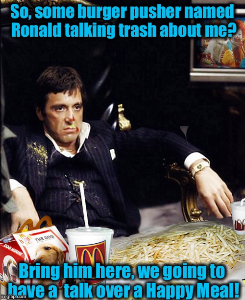 "Say ""Hello!"" to my little Happy Meal! 