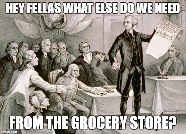 HEY FELLAS WHAT ELSE DO WE NEED FROM THE GROCERY STORE? | made w/ Imgflip meme maker