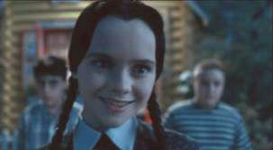 Wednesday Addams Smile Meme Template