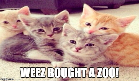 WEEZ BOUGHT A ZOO! | made w/ Imgflip meme maker