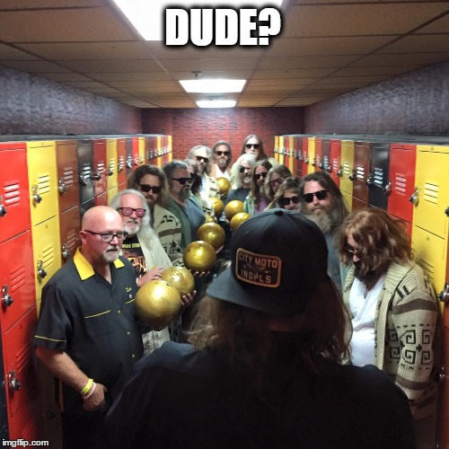 Dude? |  DUDE? | image tagged in the dude,dude,who are you people,who are you,funny memes | made w/ Imgflip meme maker