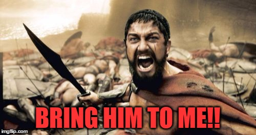 Sparta Leonidas Meme | BRING HIM TO ME!! | image tagged in memes,sparta leonidas | made w/ Imgflip meme maker