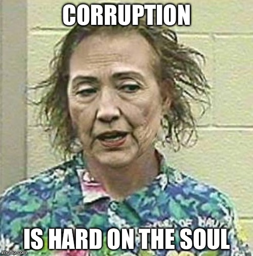 CORRUPTION IS HARD ON THE SOUL | made w/ Imgflip meme maker