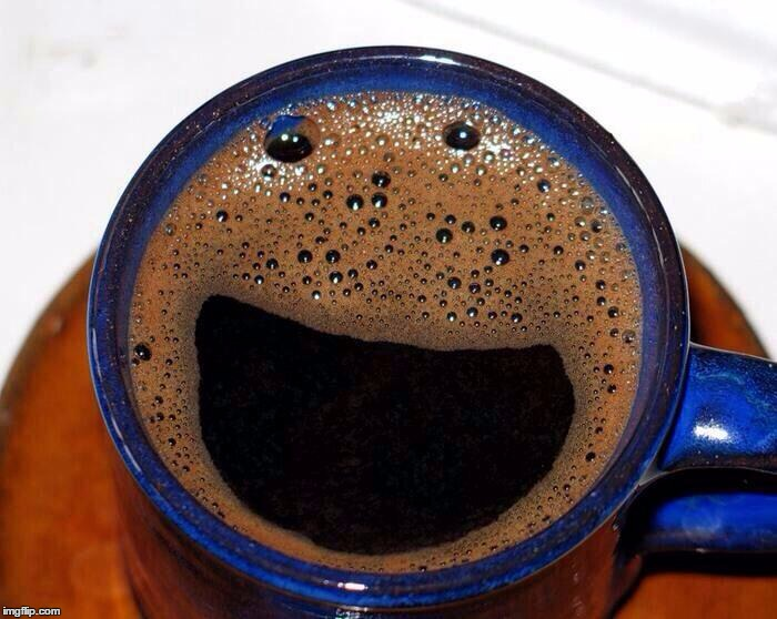 Coffee Cup Smile | . | image tagged in coffee cup smile | made w/ Imgflip meme maker