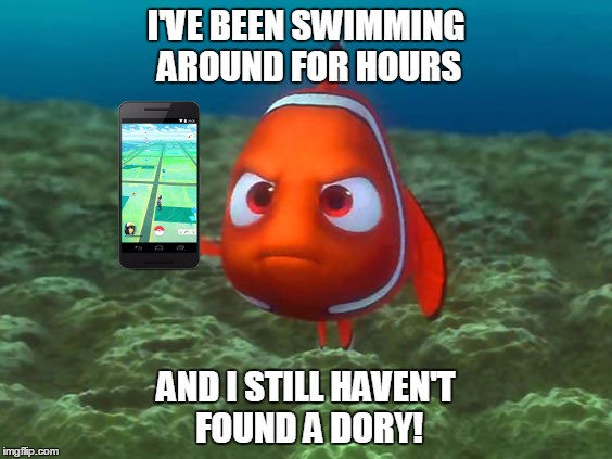 17dktc nemo just wants to catch 'em all! imgflip,Dory Meme Maker