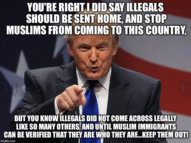 Image result for trump immigrant meme""