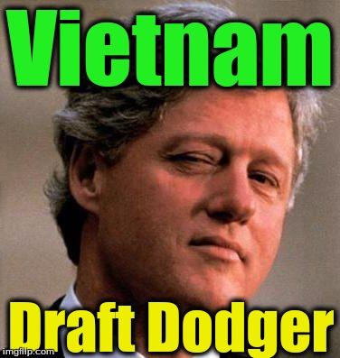 Bill clinton draft vietnam
