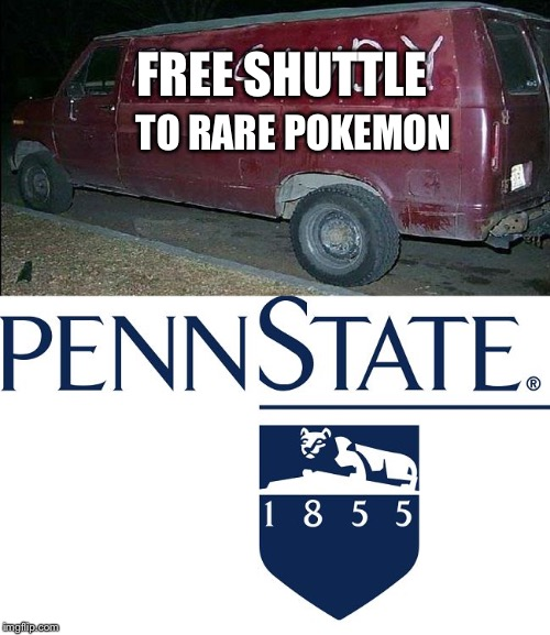 FREE SHUTTLE TO RARE POKEMON | image tagged in fiction vs reality | made w/ Imgflip meme maker