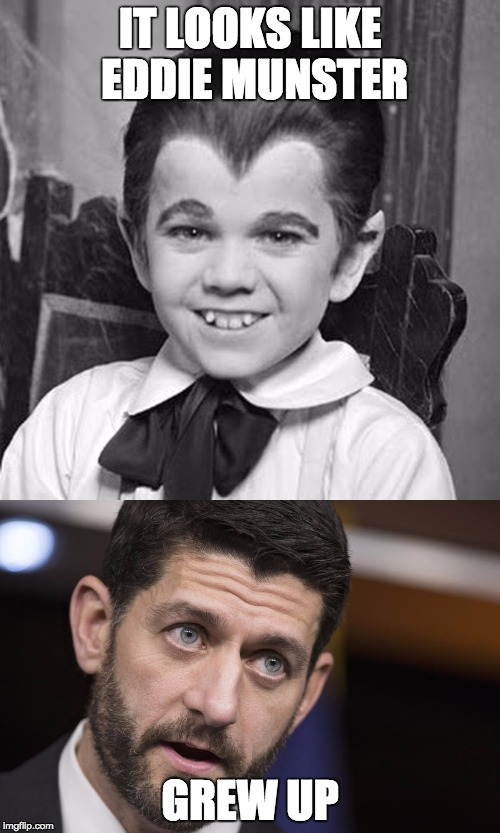 Did Eddie Munster Grow Up To Be Speaker Of The House Paul Ryan