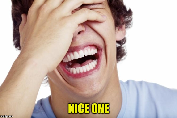 NICE ONE | made w/ Imgflip meme maker