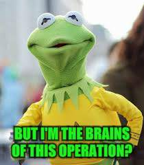 BUT I'M THE BRAINS OF THIS OPERATION? | made w/ Imgflip meme maker