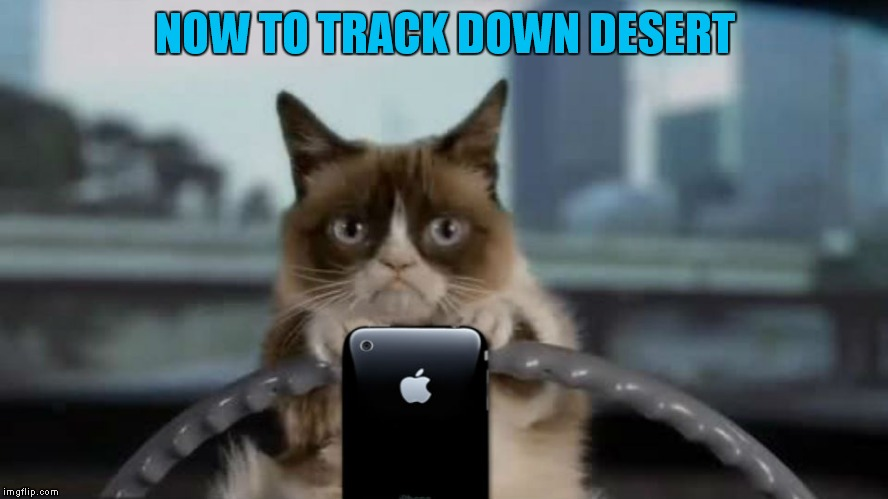NOW TO TRACK DOWN DESERT | made w/ Imgflip meme maker