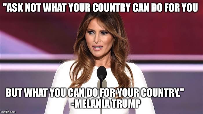 Quote Meme Fascinating Melania Trump 48 Quote Meme Generator Imgflip