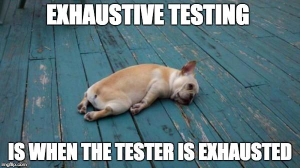 Bildresultat för tester meme