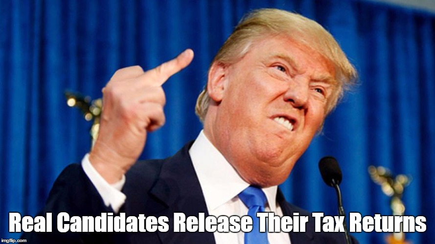Real Candidates Release Their Tax Returns | made w/ Imgflip meme maker