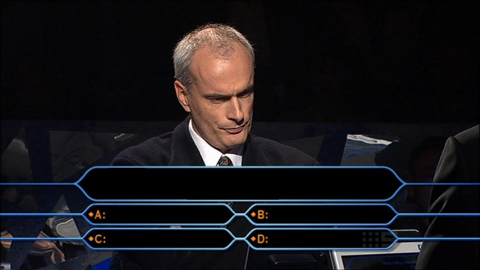 Who wants to be a millionaire template.