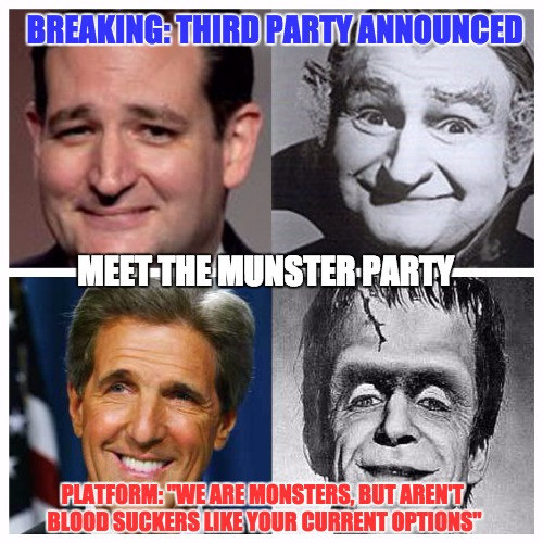 The Munster Party Imgflip