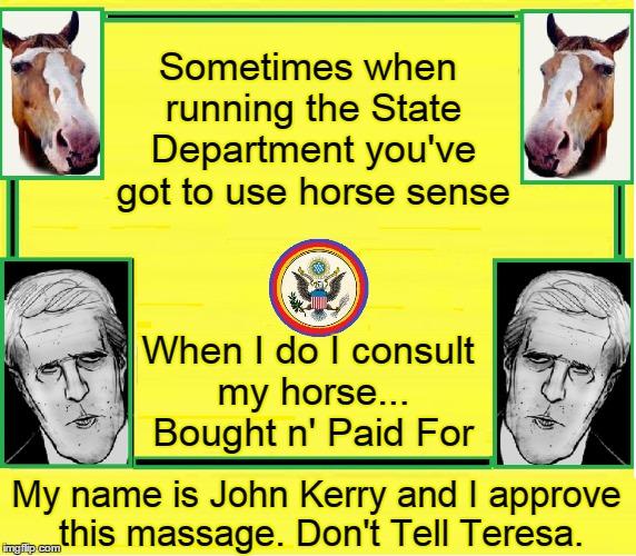 Horse Face Vs. Horse Sense