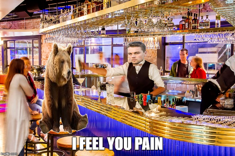 i hope we can someday put this behind us  | I FEEL YOU PAIN | image tagged in memes,leonardo dicaprio cheers,leonardo dicaprio,confession bear,pokemon go teams | made w/ Imgflip meme maker