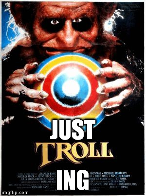 Troll movie poster | JUST ING | image tagged in troll movie poster | made w/ Imgflip meme maker