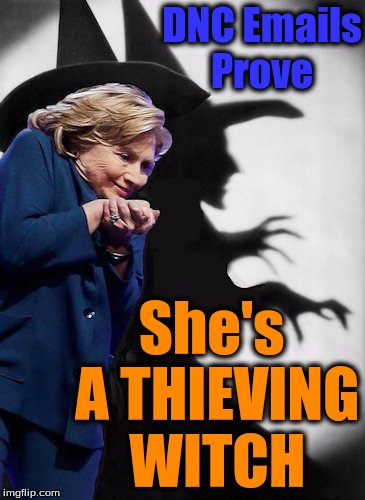 Image result for hillary the witch