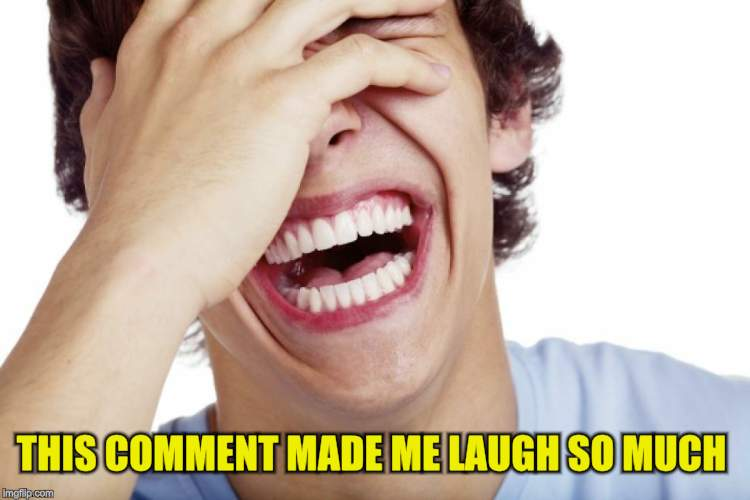 THIS COMMENT MADE ME LAUGH SO MUCH | made w/ Imgflip meme maker