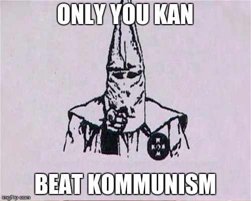ONLY YOU KAN BEAT KOMMUNISM | made w/ Imgflip meme maker