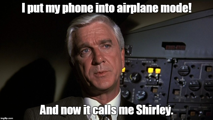 """How's our clearance, Clarence?"" 
