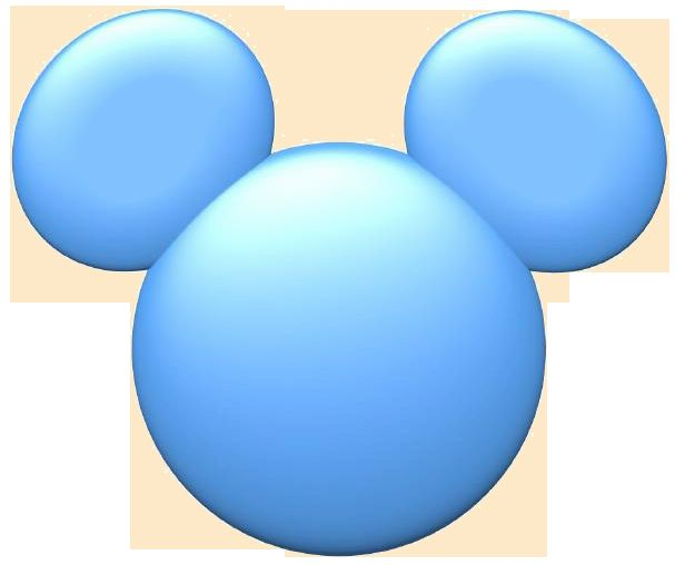 Mickey Mouse blue face Blank Template - Imgflip