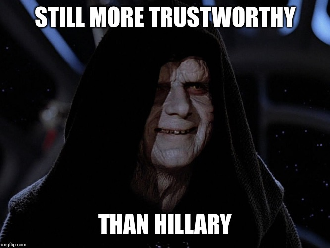 17ymwb image tagged in star wars,memes,hillary clinton imgflip