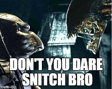 DON'T YOU DARE SNITCH BRO | made w/ Imgflip meme maker