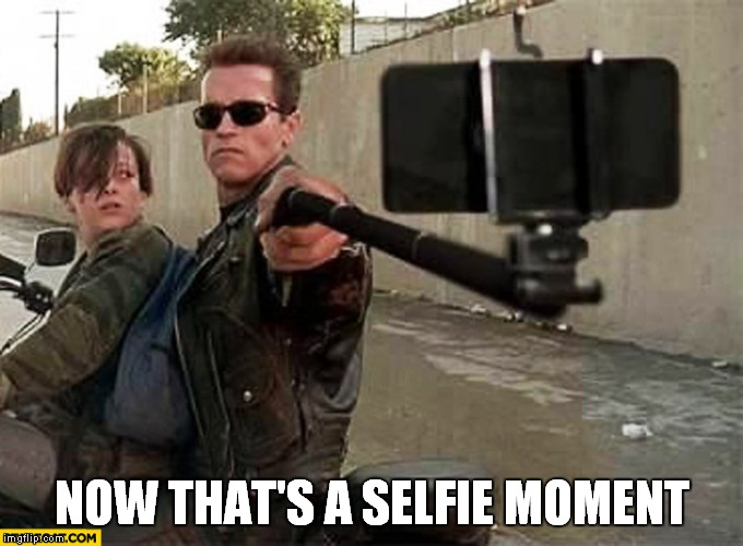 NOW THAT'S A SELFIE MOMENT | made w/ Imgflip meme maker