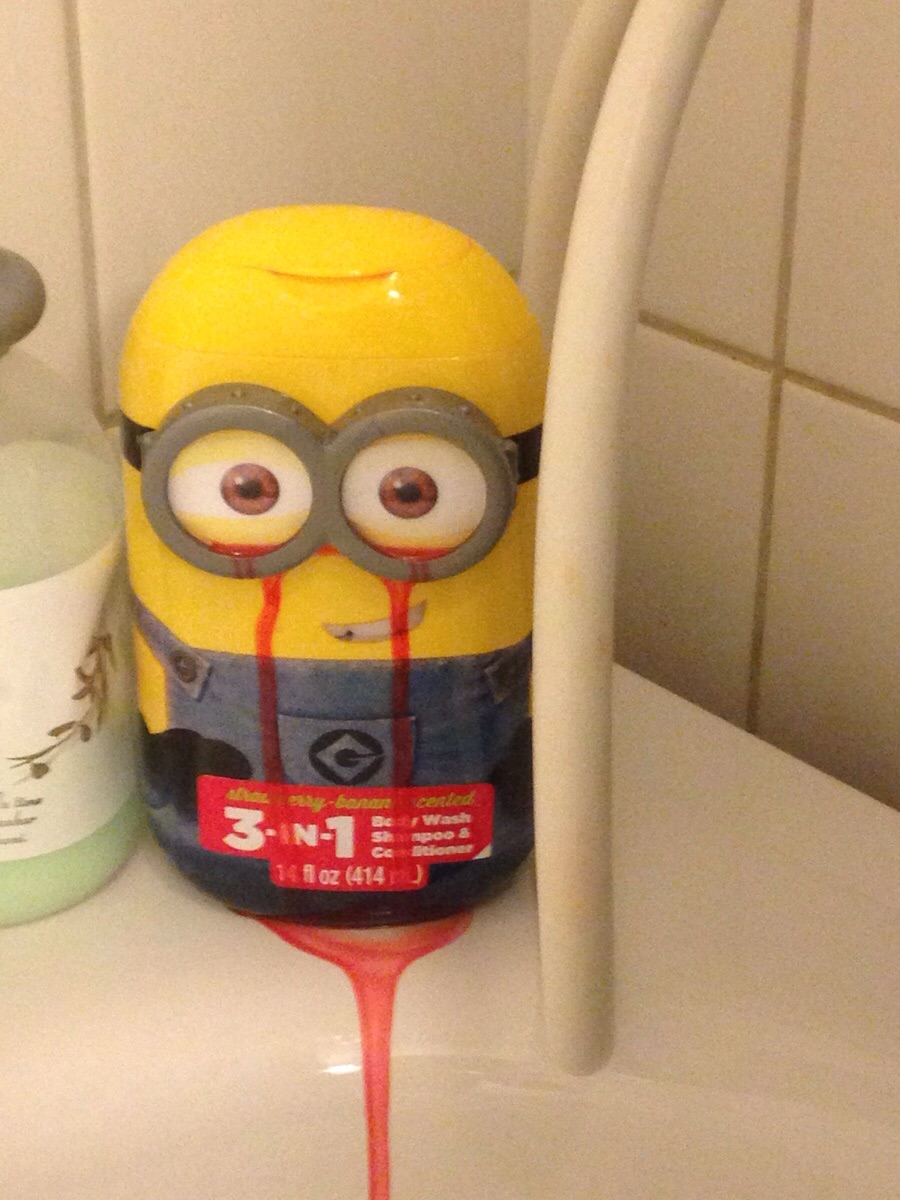 minion bleeding eyes blank template imgflip
