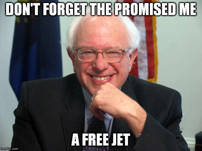 DON'T FORGET THE PROMISED ME A FREE JET | made w/ Imgflip meme maker