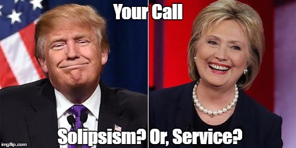 Your Call Solipsism? Or, Service? | made w/ Imgflip meme maker