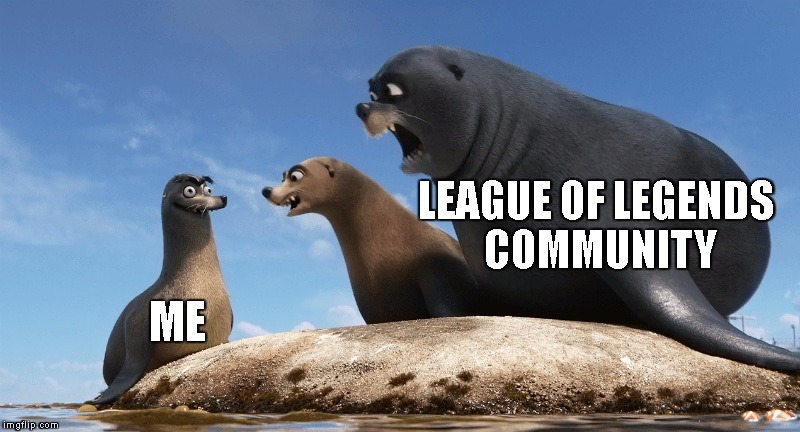 Gerald 1 | LEAGUE OF LEGENDS COMMUNITY ME | image tagged in gerald 1 | made w/ Imgflip meme maker