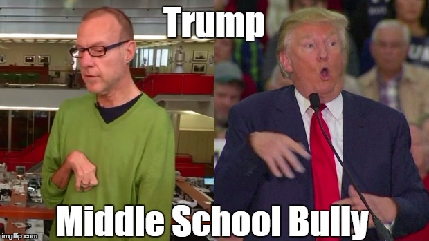 Trump Middle School Bully | made w/ Imgflip meme maker