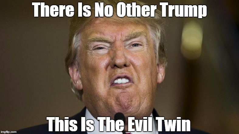 There Is No Other Trump This Is The Evil Twin | made w/ Imgflip meme maker