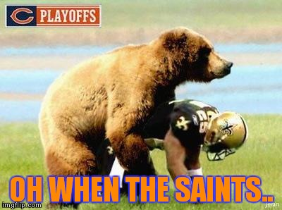 OH WHEN THE SAINTS.. | made w/ Imgflip meme maker