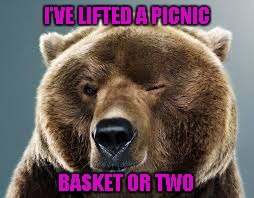 I'VE LIFTED A PICNIC BASKET OR TWO | made w/ Imgflip meme maker