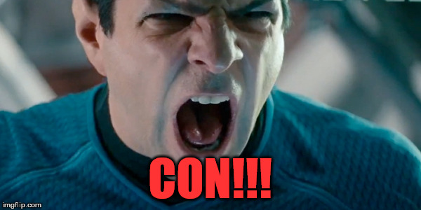 CON!!! | made w/ Imgflip meme maker