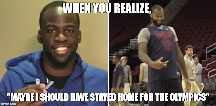 "Stay Home For The Olympics |  WHEN YOU REALIZE, ""MAYBE I SHOULD HAVE STAYED HOME FOR THE OLYMPICS"" 