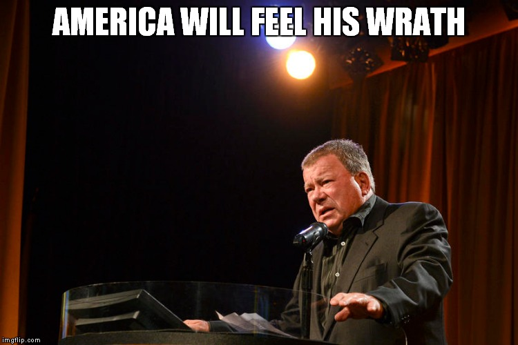 AMERICA WILL FEEL HIS WRATH | made w/ Imgflip meme maker