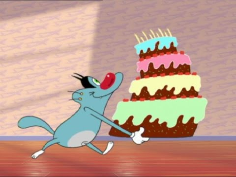 Oggy Birthday Meme Template